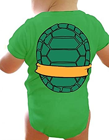 fd46e0e16 Amazon.com   Teenage Mutant Ninja Turtles Green Michelangelo Costume ...