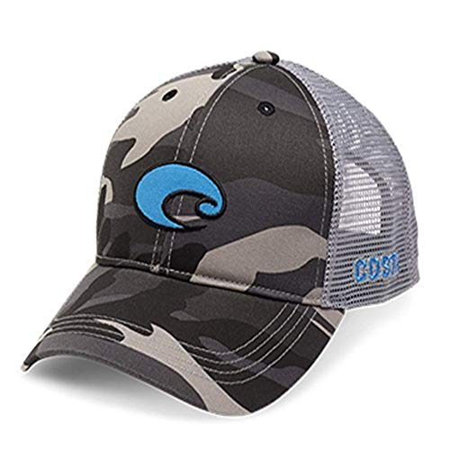 Costa Del Mar Costa Camo Logo Hat, black ()