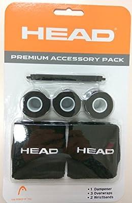 Head Premium Tennis Pack (Grip,Dampener,Sweatband)