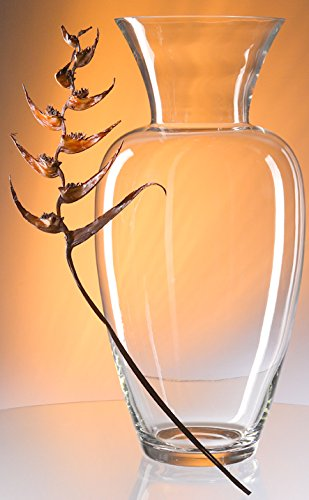 Amazon Vase Xxlarge Clear Glass Floor Vase Classic Flowervase