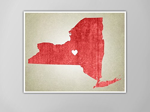 Amazon.com: New York | Rustic State Map, New York Map ... on make your own dress, make your own family, make your own home, make your own save the date, make your own flowers, make your own cake,