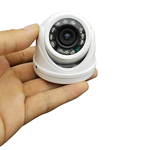 "Vanxse® Cctv 960h 1200tvl Hd 1/3"" Sony Cmos 12pcs Leds Ir-cut 3.6mm Wide Angle Mini Armour Dome Security Camera Surveillance Camera"