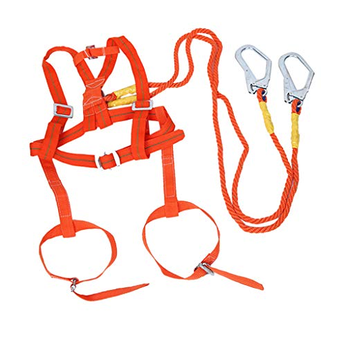 P Prettyia 安全ハーネス 安全帯 100kg フルハーネス 2メートル 調節可能 快適性 2種選ぶ 高所作業 - スタイル1