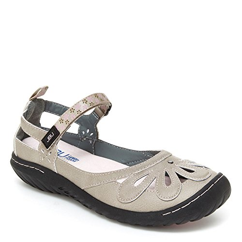 Jbu Door Jambu Vrouwen Wildflower Encore Mary Jane Flat Cement