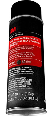 3m Metal Glue (3M 38808 Headliner and Fabric Adhesive - 18.1 oz.)