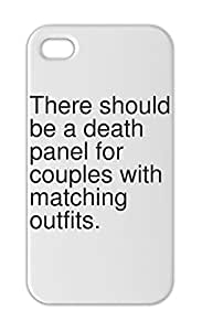 There should be a death panel for couples with matching Iphone 5-5s plastic case