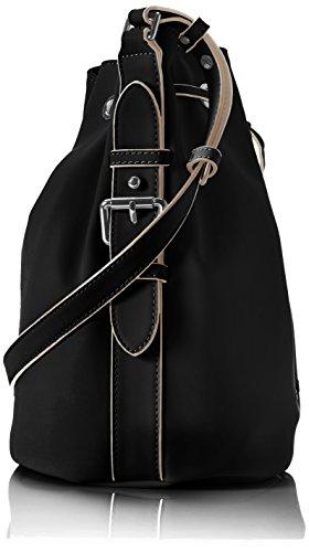 Armani 9222127p772 - Bolso con asas Mujer Negro (Nero 00020)