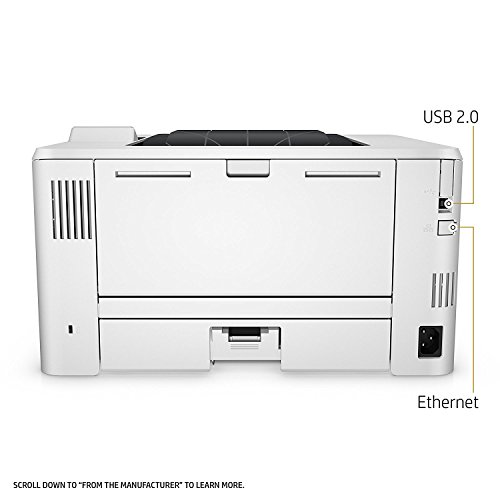 41F8teqe0QL - HP LaserJet Pro M402n Monochrome Printer, Amazon Dash Replenishment ready (C5F93A)