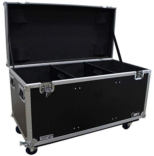 Harmony HCUT4422W Pro Audio DJ Touring 44x22x22 Utility Road Trunk Case Wheels