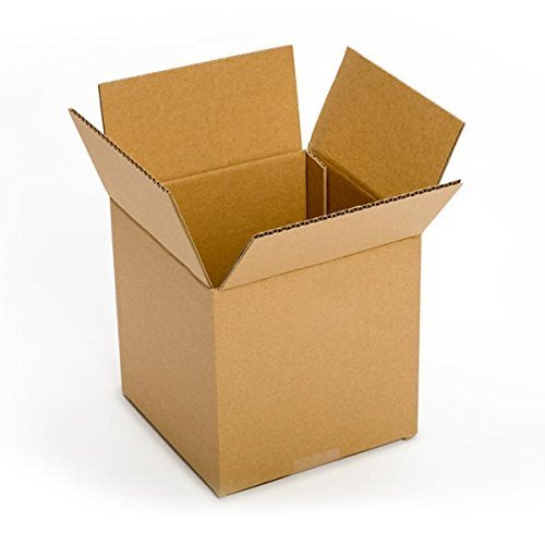 RetailSource BX080808C900 Corrugated Box, 8'' x 8'' x 8'', Brown (Pack of 900)