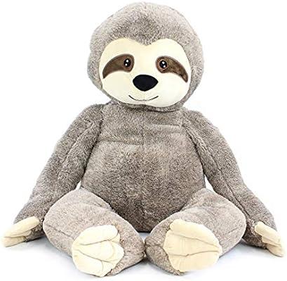 Amazon Com Gitzy Sammy Sloth 32 Inch Sloth Plush Stuffed Animal