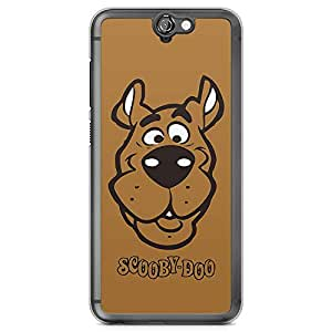 Loud Universe Scooby Doo Face HTC A9 Cover with Transparent Edges