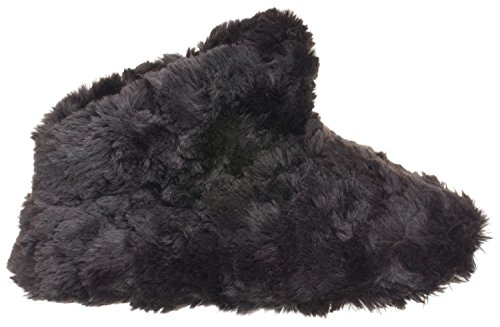 Medium Boot Womens 5 6 Fur Isotoner Faux Textured 5 Black Regina 7 0XdUH