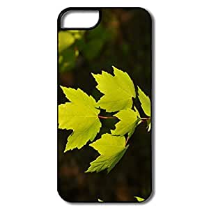 Cool Green Leaves Under Sun Light IPhone 5/5s Case For Him