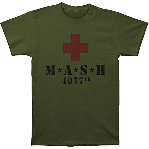 Mash Men's Red Cross T-shirt Army