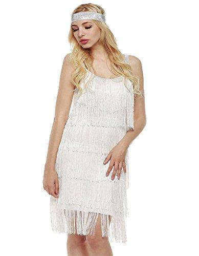 1920s backless dress - 6