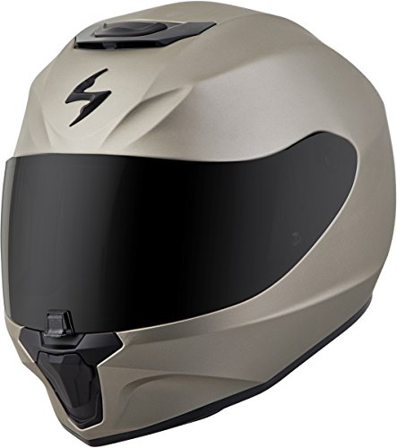 Scorpion EXO-R420 Full-Face Solid Street Bike Motorcycle Helmet - Titanium/X-Large ()