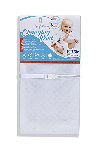 [Combo Pack]LA Baby Waterproof 4 Sided Changing Pad 32