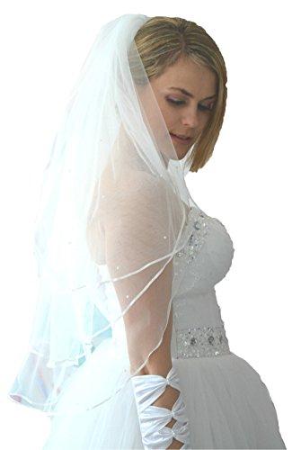 Bridal Veil Unbekannt Unbekannt womens White womens qYII0wt
