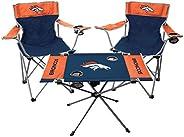 NFL Denver Broncos Tailgate Kit, Team Color, One Size