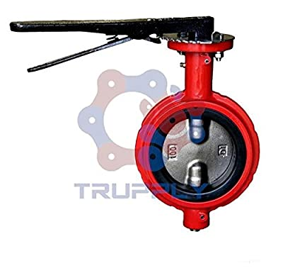"""Butterfly Valve   Lug   Buna Seat   Size 12""""   DI NP Disc from Trupply"""
