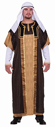 [Forum Novelties Men's Designer Collection Deluxe Sultan Costume, Multi, Medium] (Arabian Costumes For Men)