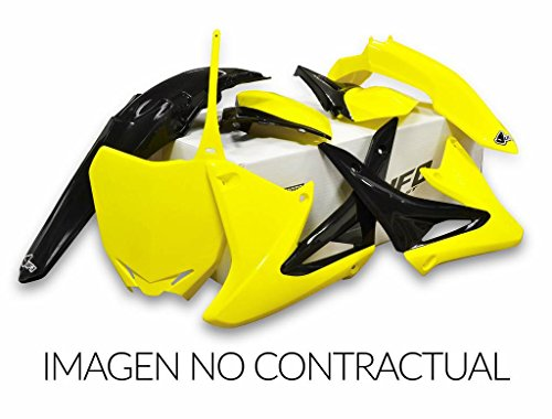 - UFO Plastics Complete Body Kit - OEM Yellow - Restyled, Color: Yellow SUKIT405K-999