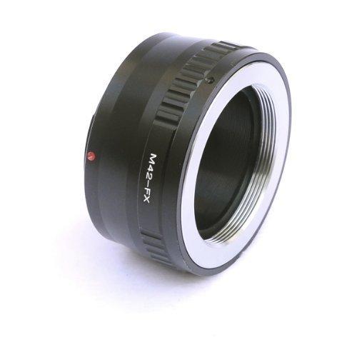 Fotasy Brass M42 42mm Screw Mount Lens to Fujifilm X-Mount Camera X-Pro1 X-Pro2 X-E1 X-E2 X-E2S X-M1 X-A1 X-A2 X-A3 X-A10 X-M1 X-T1 X-T2 X-T10 X-T20 Adapter