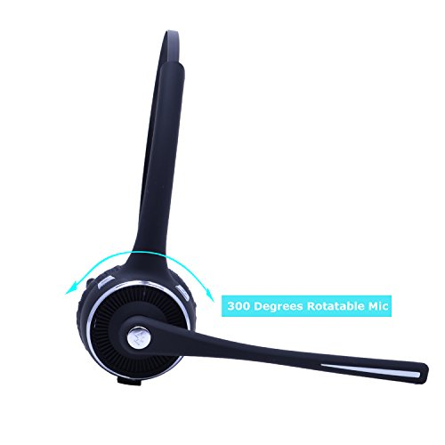 authentic stardrift wireless bluetooth headset over the head multipoint noise cancelling. Black Bedroom Furniture Sets. Home Design Ideas