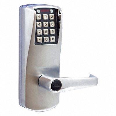 E-PLEX Electronic Lock Satin Chrome 12 Button
