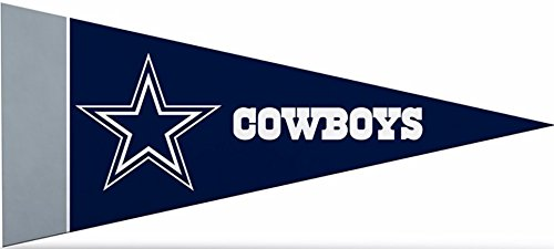 Dallas Cowboys Pennant - Zipperstop Officially Licensed Dallas Cowboys NFL Mini Pennant, 4