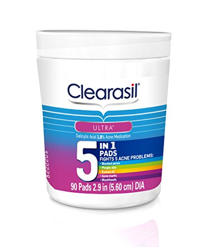 clearasil-ultra-5in1-facial-cleansing-pads-90-count