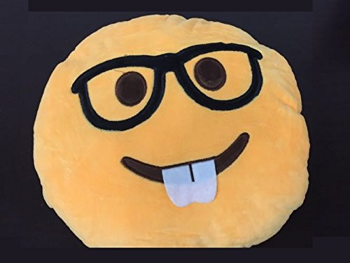 Emoji Pillow Yellow Smiley Emoticon product image