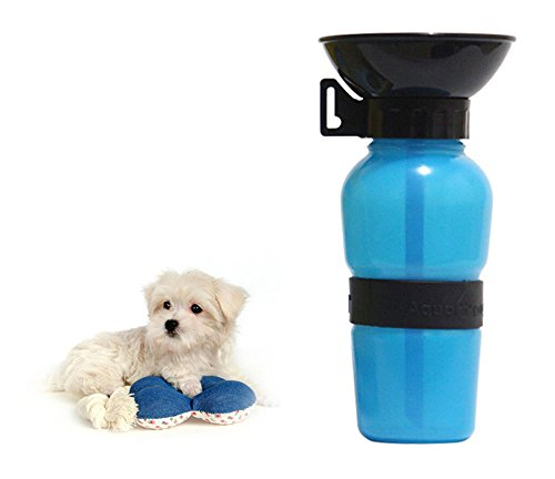 Botella de Agua para perros,Tazón de Agua para Viajes de Gatos/Perros Alimentador de Alimentos para 350 ml de Agua de...