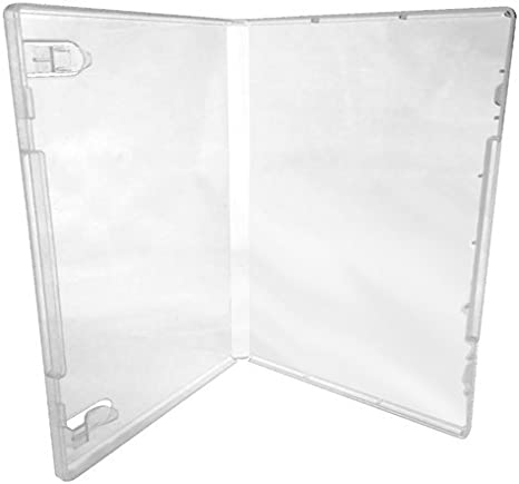 No Hub CheckOutStore 10 Clear Storage Cases 14mm for Rubber Stamps