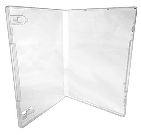 (6) CheckOutStore Plastic Storage Cases for Rubber Stamps (Clear)