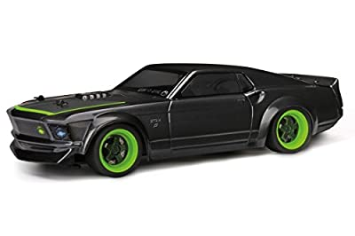 HPI RACING 113081 '69 Ford Mustang Body RTR-X Painted 140mm