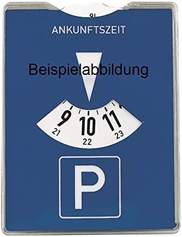 Set mit Parkscheibe Farbausf/ührung: schwarz mit ABE ClimAir Windabweiser vorne 03-3865