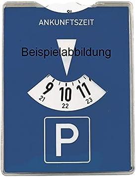 Set mit Parkscheibe mit ABE 03-P0062 ClimAir Windabweiser vorne Farbausf/ührung: schwarz
