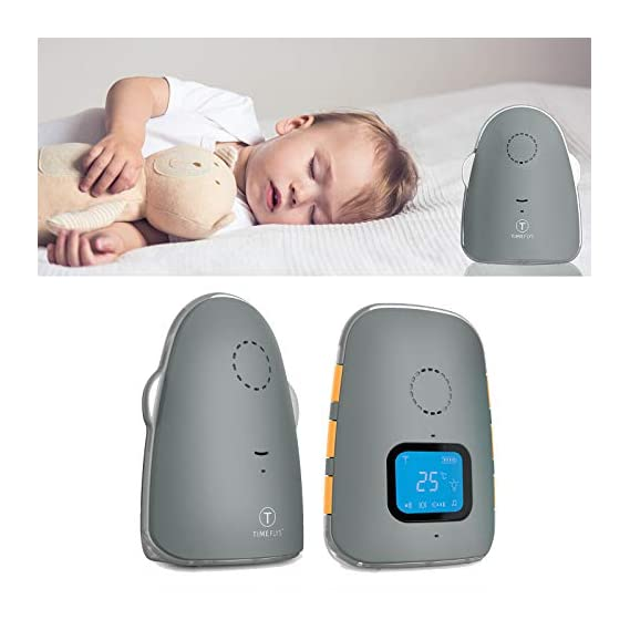 Safe-O-Kid Premium Quality Audio Baby Monitor with Batteries, Covers Up to 1000 FT Area, LED Indicator, 2 Way