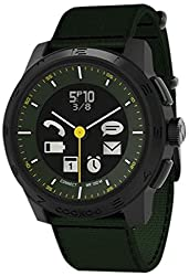 Cookoo Smart Bluetooth Connected Watch - Khaki