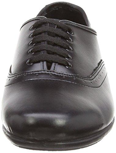 Eleanor Newman's Zapatos de Mujer Negro Own cordones Organics PwCFgq