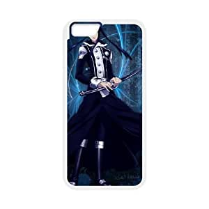 iPhone 6 Plus 5.5 Inch Cell Phone Case White D.Gray man LDI Phone Case For Guys Personalized