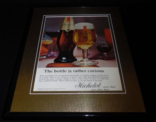 1964 Michelob Beer 11x14 Framed ORIGINAL Vintage Advertisement Anheuser Busch ()