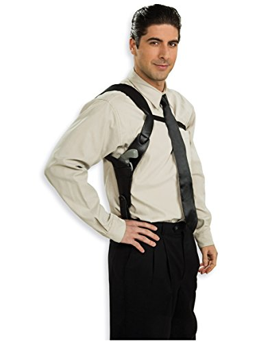Rubie's Shoulder Holster Costume, Black, One