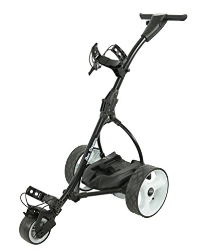 Ben Sayers Lead Acid Electric Golf Trolley - Black
