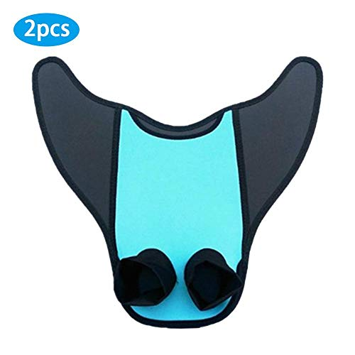 Dacyflower Mermaid Tail,Adult Children Training Diving Fins Mermaid Swimming Wings Mermaid's Two-Legged Heel