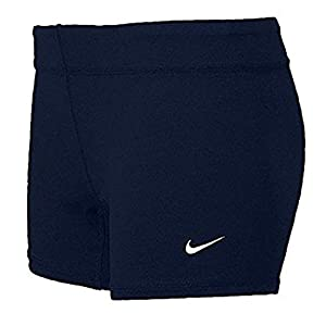 Nike Performance Women's Volleyball Game Shorts (Medium, Navy)