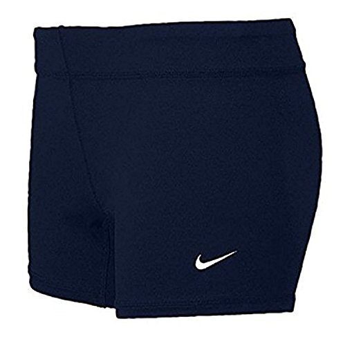 Nike Performance Women's Volleyball Game Shorts (Medium, Navy)