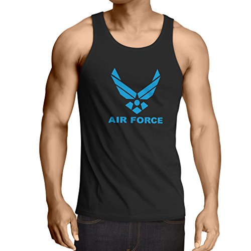 Vest United States Air Force (USAF) - U. S. Army, USA Armed Forces (Medium Black Blue)